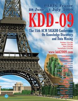 KDD-09, Paris